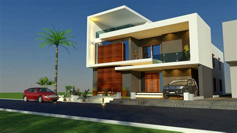beautiful modern house plans with elevations and sections 3d front elevation com house home contemporary modern