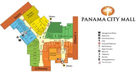 lynnhaven mall map panama canal map location
