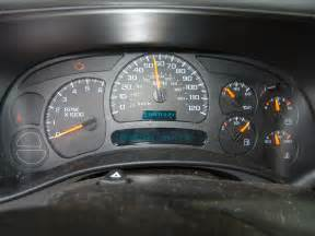 2005 gmc speedometer sticks replacing faulty