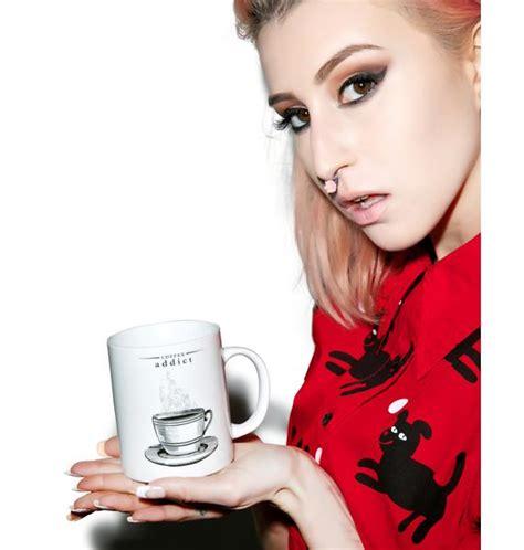 Mug Coffee Addict By coffee addict mug dolls kill