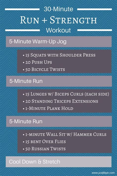 best 25 30 minute workout ideas on