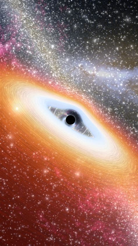 prehistoric black hole iphone wallpaper hd