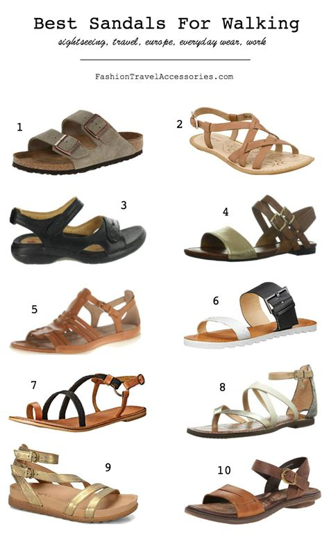 best sandals for walking in europe travel everyday wear