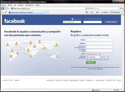 facebook en espanol registrarse facebook iniciar sesion entrar facebook en espa 241 ol
