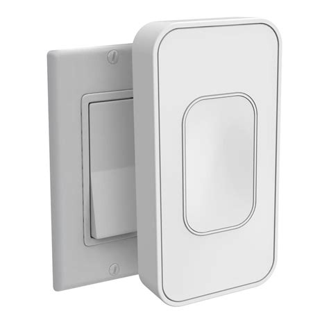 voice command light switch switchmate light switch rocker white rsm001w the home depot