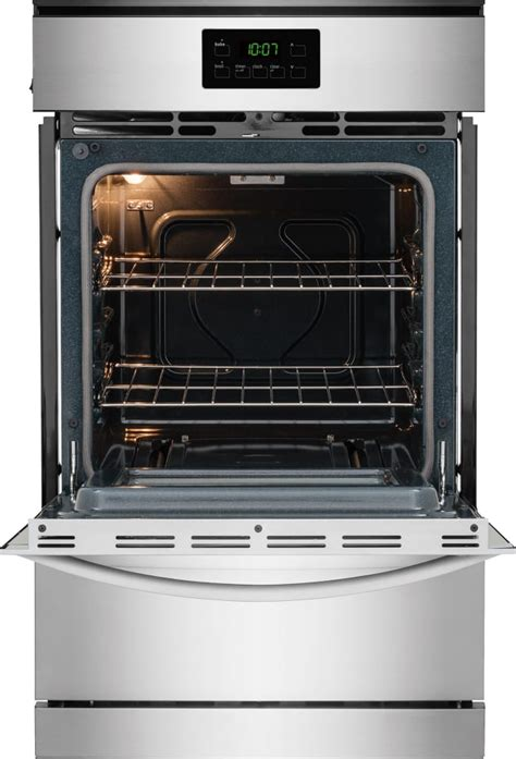Broiler Drawer Oven by Frigidaire Ffgw2415qs 24 Inch Single Gas Wall Oven With