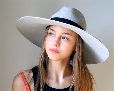 wide brimmed fedora hat fashion by katarinahats