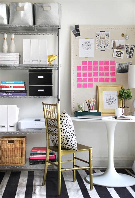 Design Essentials Home Office | essentials for a home office the everygirl