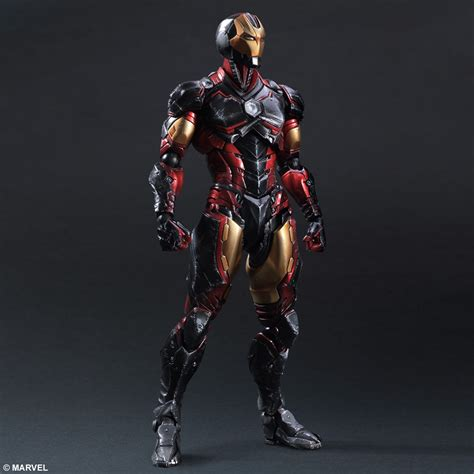 Play Arts Marvel Universe Ori Square Enix New Misb marvel universe variant play arts iron square enix store
