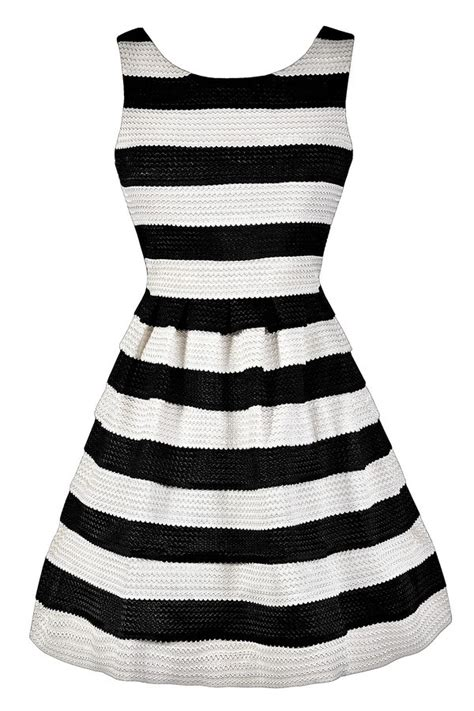 Dress Best Stripe black and white stripe dress black and ivory stripe dress