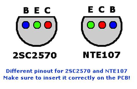 equivalent transistor for c2570 aviation band receiver