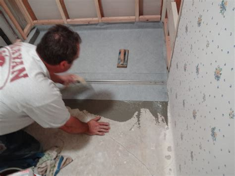 Setting A Shower Drain by Installing A Zero Clearance Shower Drain Building Moxie