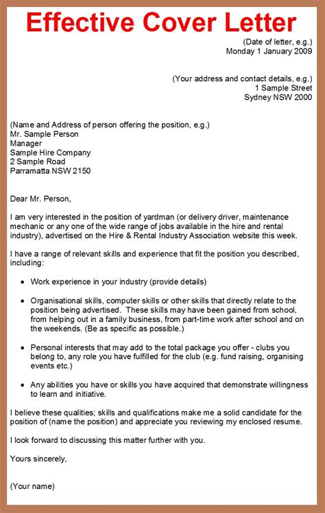 cover letter sample example effective cover letter 2 weeks