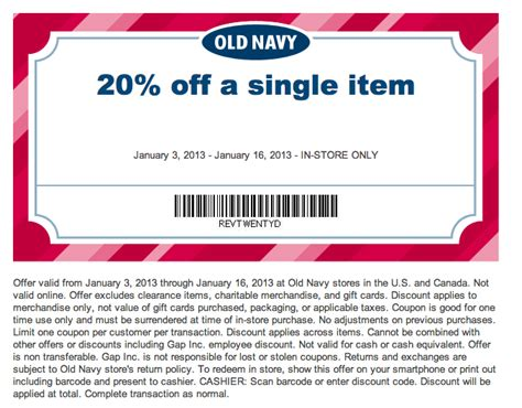 old navy coupons nov image gallery old navy in store coupons 2016