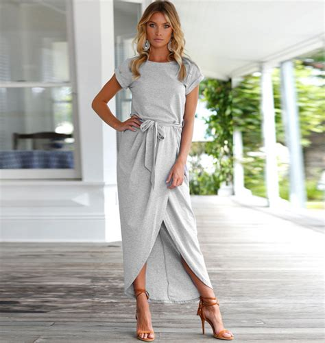 maxi jurken casual casual maxi dress vivi fashion damesmode accessoires