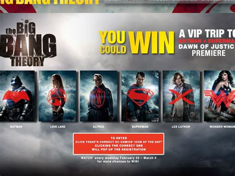 Big Win Sweepstakes - the big bang theory batman v superman who will win sweepstakes sweepstakes fanatics