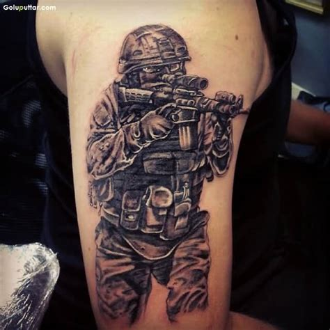 military tattoo designs for men army sniper tattoos pictures ideas