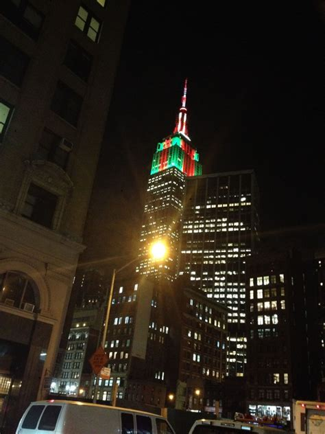 Empire State Building Lights Schedule by Tis The Season Age Of Grace