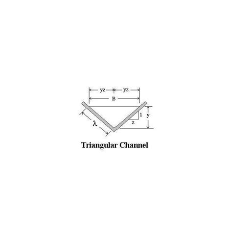 Best Hydraulic Section For Trapezoidal Channels by Calculation Of Open Channel Flow Hydraulic Radius