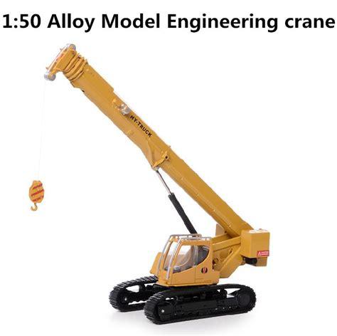 Free Shipping Sluban Crane Building - sale wholesale 1 50 alloy construction crane