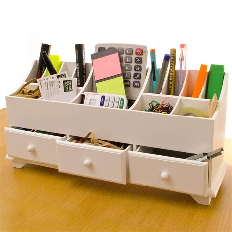 desk tidy wooden desk tidy organiser caddy pen holder tidy make up
