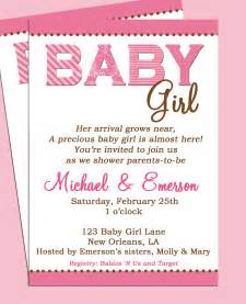 Baby shower invitation printable or printed with by thatpartychick