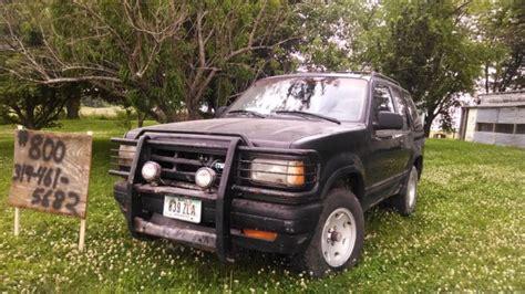 old car manuals online 1992 mazda navajo user handbook mazda navajo cars for sale