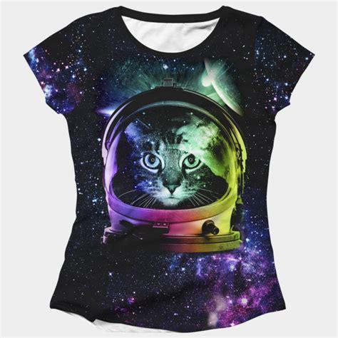 Tshirt Astronaut Cat astronaut cat t shirt by clingcling design by humans