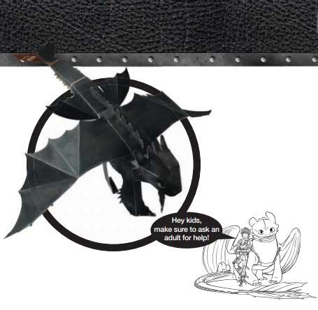 Fury Papercraft - how to your toothless ver 3 free paper