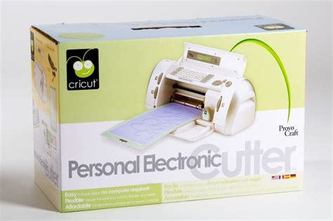 Provo Craft Paper Cutter - cricut personal electronic cutter by provo craft 29 0001