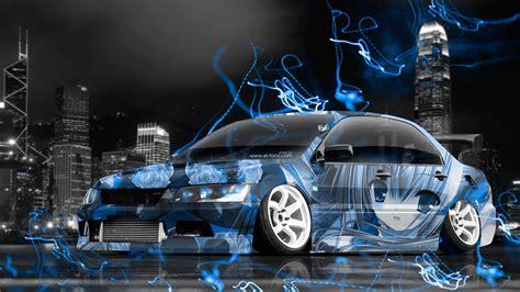 jdm tuner cars mitsubishi lancer evolution jdm tuning anime city car 2015