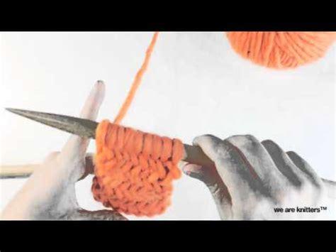 herringbone pattern youtube learn to knit herringbone stitch we are knitters youtube