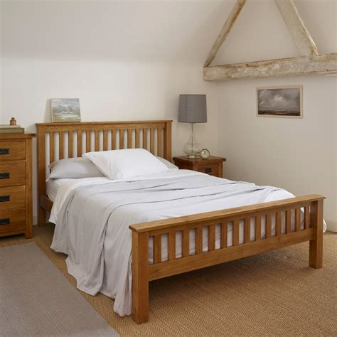 rustic king size bed original rustic king size bed in solid oak oak furniture