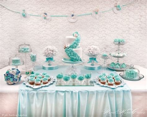 Tiffany inspired Sweet table   Sweet sweet sweet   Pinterest   Tables, Sweet and Sweet tables