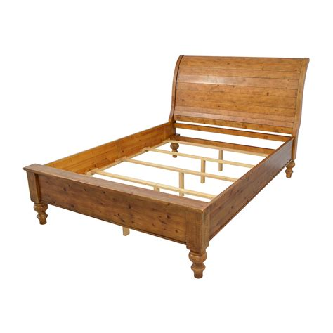 sleigh bed frame 46 pottery barn pottery barn ashby sleigh bed