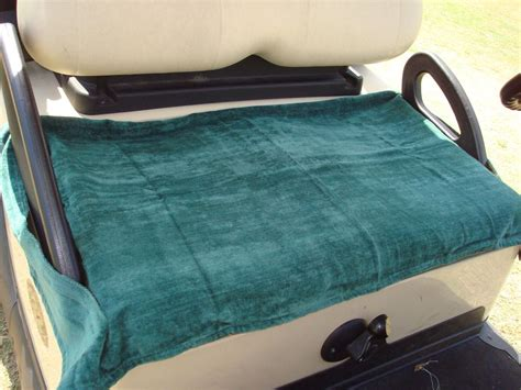 portable golf cart seat cover