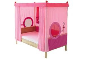 Twin Canopy Beds For Girls cool canopy bed design for made of wooden with pink