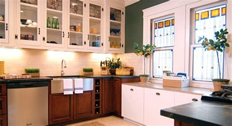 kitchen cabinets with windows stained glass kitchen windows denver stained glass