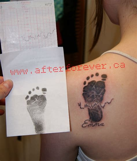 baby heartbeat tattoo 55 cool shoulder tattoos