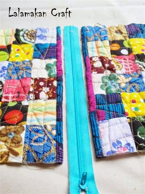 tutorial dompet quilting creativity tutorial membuat dompet blok patchwork