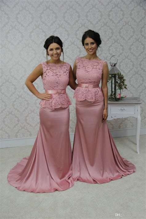 Pink Mix Black Dress 27379 collections of black wedding dresses for matron of honors