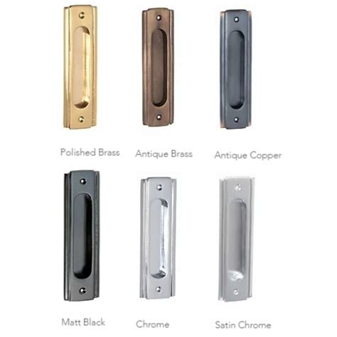 sliding door handle and lock traditional deco style sliding door flush pull handle