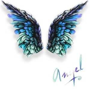 Angel wings on my shoulder blades done in a small size i love the