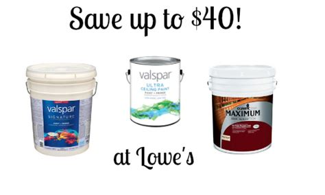 lowes paint lowe s paint rebate save up to 40 southern savers