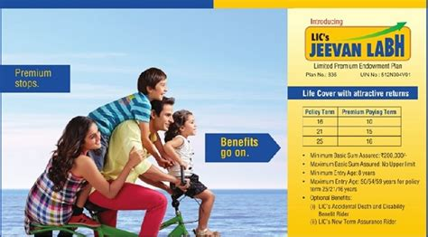 lic s jeevan labh table no 836 features and review