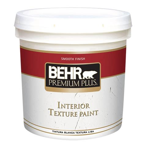 behr premium plus 2 gal sand finish flat interior texture paint 100202 the home depot