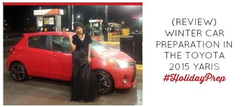 (Review) Winter Car Preparation in the Toyota 2015 Yaris #
