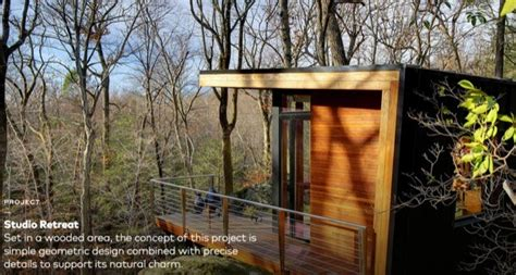 300 Square Foot Cabin by 300 Sq Ft Modern Studio Cabin