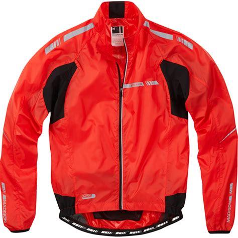 showerproof cycling jacket madison sportive stratos mens showerproof cycling jacket