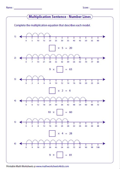 printable number line for third grade fractions on a number line worksheets for third grade